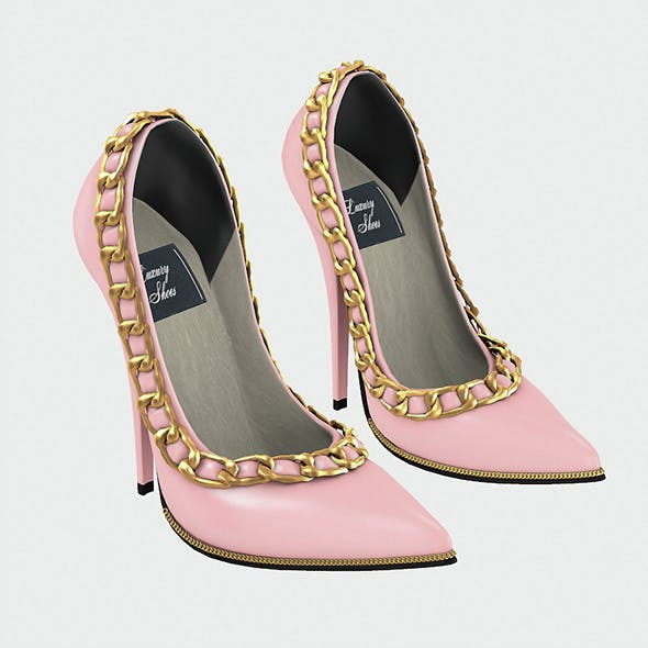 Luxury Shoes with Baked Lights in Trendy colors  - 3DOcean Item for Sale