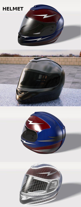 Helmet - 3DOcean Item for Sale