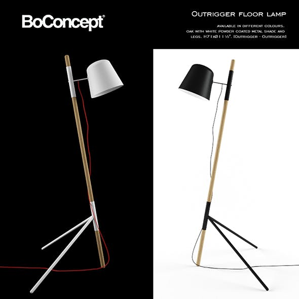 Boconcept Outrigger Floor Lamp