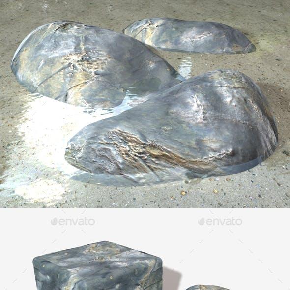 Drying Ocean Rock Seamless Texture