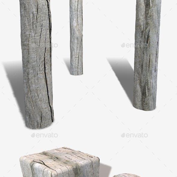 Driftwood Seamless Texture