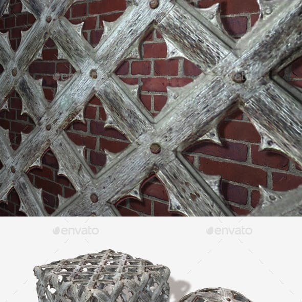 Medieval Woodwork Seamless Texture