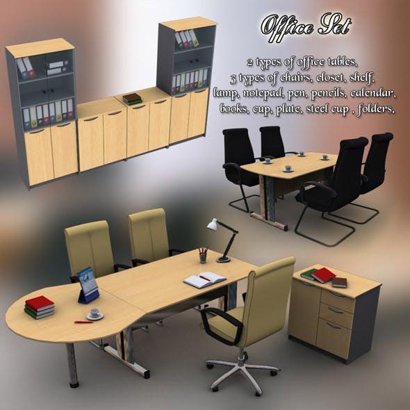 Office Set 11 - 3DOcean Item for Sale