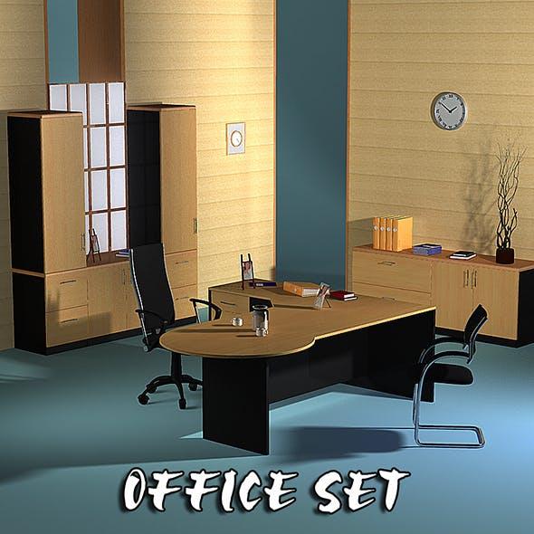 Office set 17 - 3DOcean Item for Sale