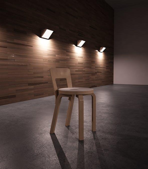 Alto 65 Chair 3D Model - 3DOcean Item for Sale