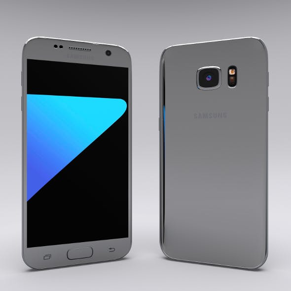 Samsung Galaxy S7 Gray - 3DOcean Item for Sale
