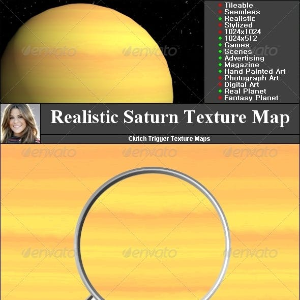 Saturn Texture Map