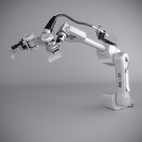 Robotic Arm (Rigged)
