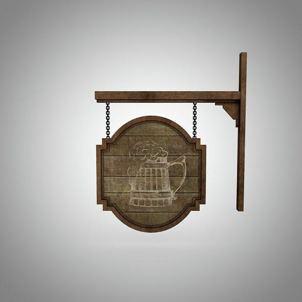 Signboard - 3DOcean Item for Sale