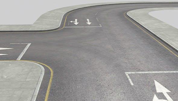 Roads Construction Kit - 3DOcean Item for Sale