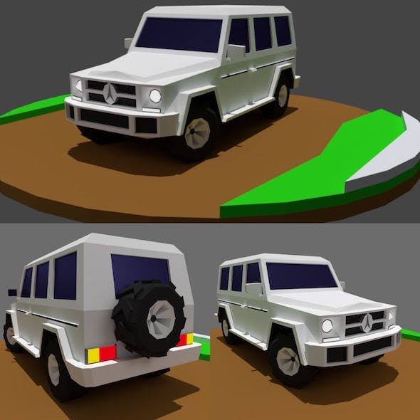 AMG G65 - Low Poly Off Road Vehicle