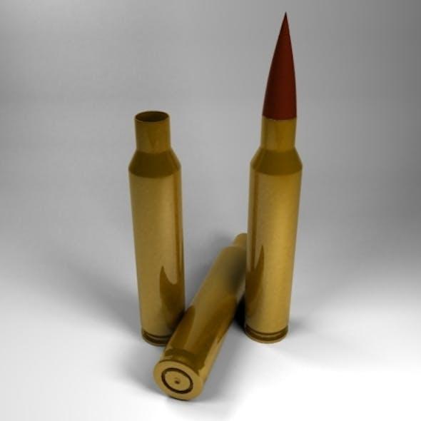 5.56 x 45mm Bullet Cartridge