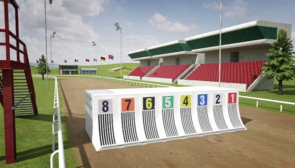 Greyhound Racecourse Pack - 3DOcean Item for Sale