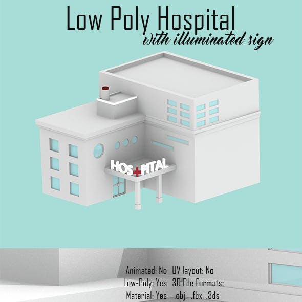 Low Poly Hospital