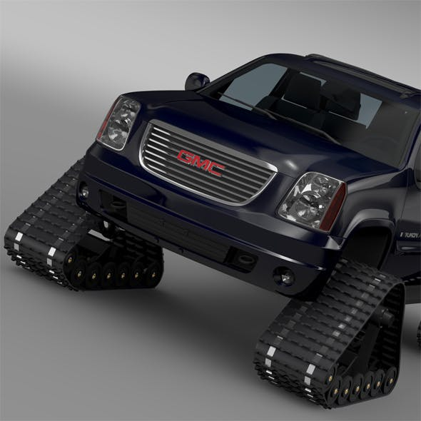 GMC Yukon XL Crawler - 3DOcean Item for Sale