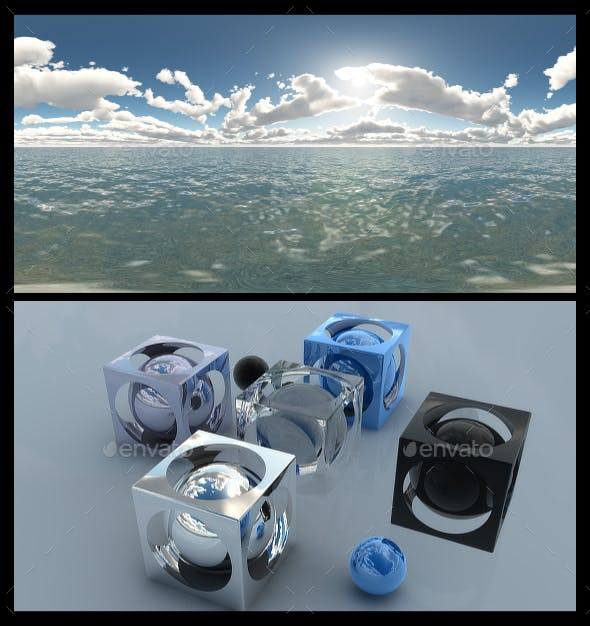 Ocean Bright Day 9 - HDRI - 3DOcean Item for Sale