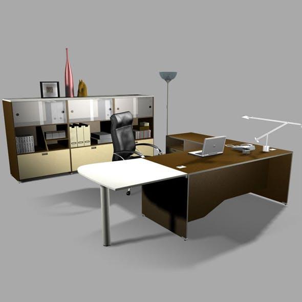 Office set 23 - 3DOcean Item for Sale