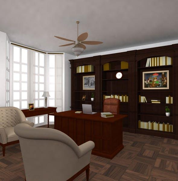 Office Set 25 - 3DOcean Item for Sale
