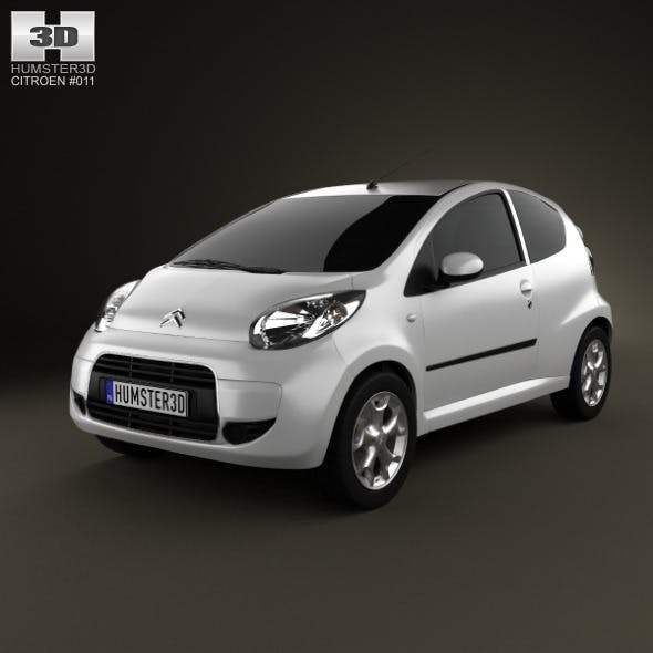 Citroen C1 3-door 2012 - 3DOcean Item for Sale