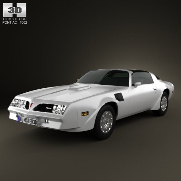 Pontiac Firebird TransAm 1977 - 3DOcean Item for Sale