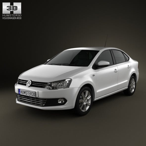 Volkswagen Polo sedan 2012