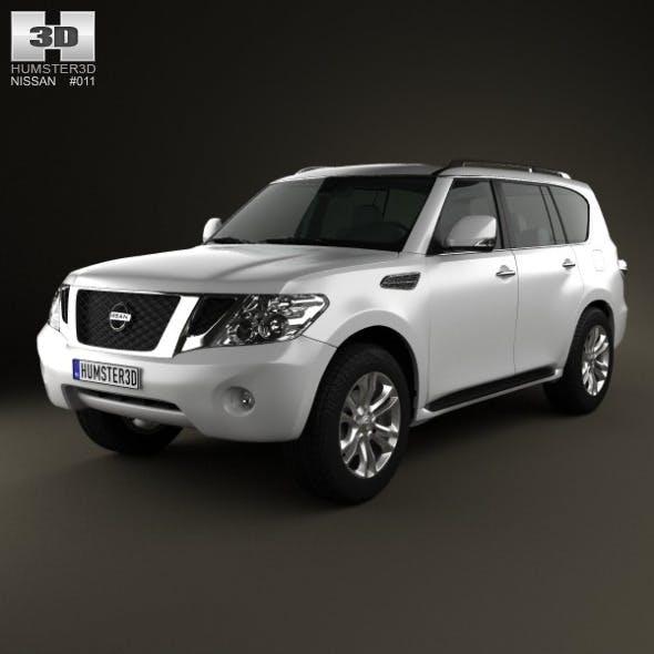 Nissan Patrol 2011 - 3DOcean Item for Sale