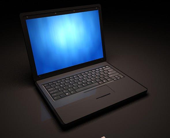 Office Laptop - 3DOcean Item for Sale