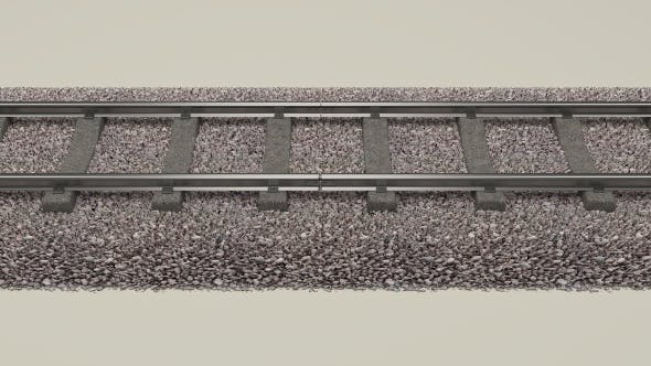 Train Track - 3DOcean Item for Sale