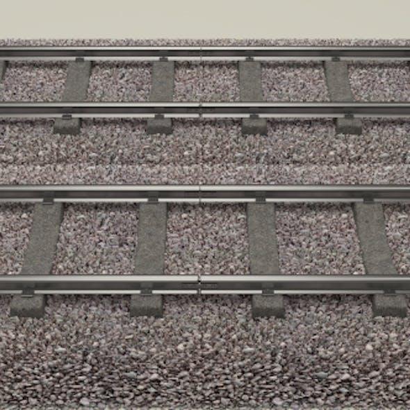Train Track Double