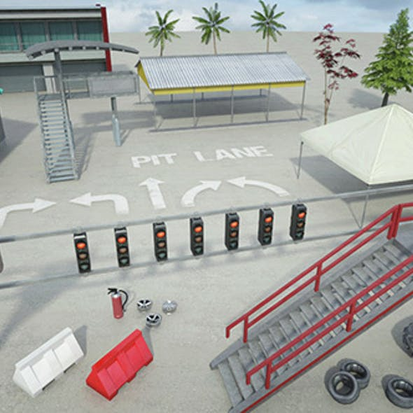 Race Track Construction Kit: Add-on B
