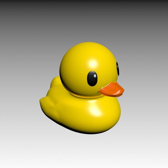 Rubber Ducky - 3DOcean Item for Sale