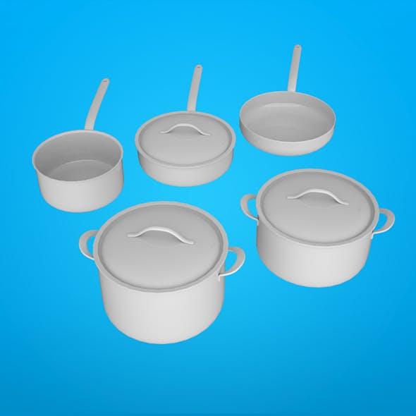 Cookware vol 02 - 3DOcean Item for Sale