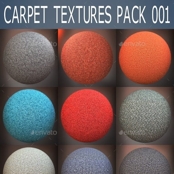 Carpet Textures Pack 001