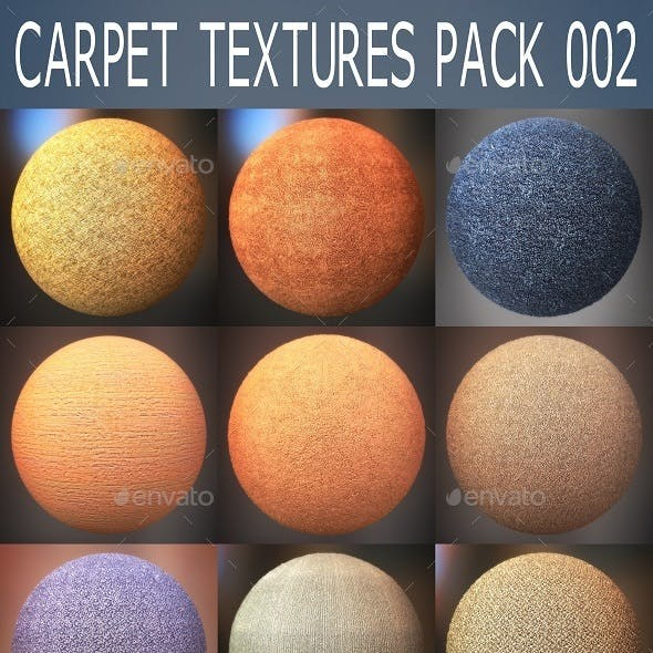 Carpet Textures Pack 002