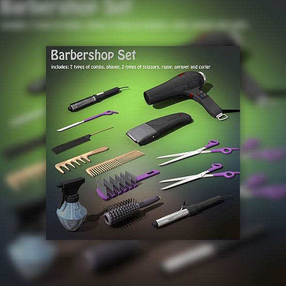 Barbershop set