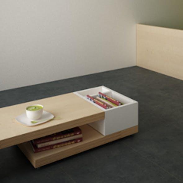 3D Designer Lounge Table