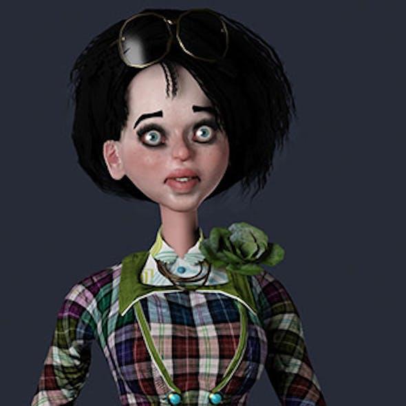 Cartoon Female