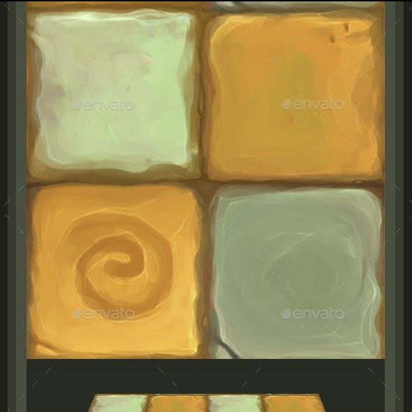 Stone Floor Tile V4