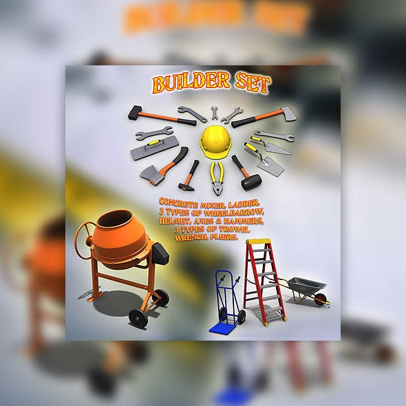 Builder Set - 3DOcean Item for Sale