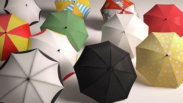 Umbrella Open Close - 3DOcean Item for Sale