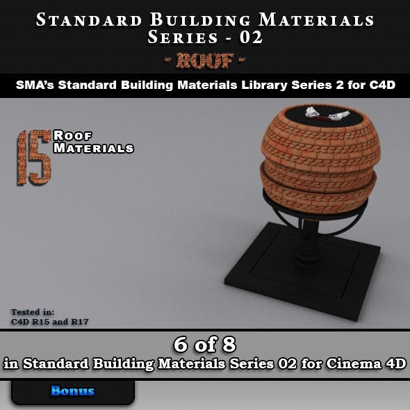 Standard Building Materials S02 - Roof for Cinema 4D