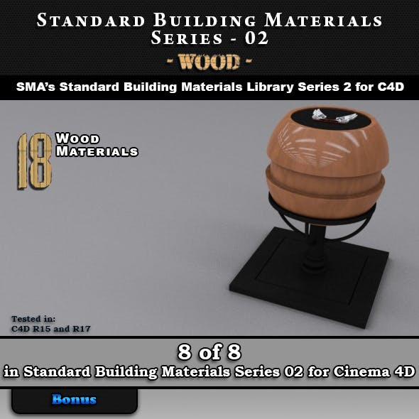 Standard Building Materials S02 - Wood for Cinema 4D