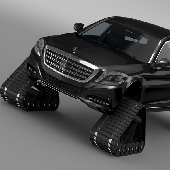 Mercedes Maybach Pullman Crawler 2016