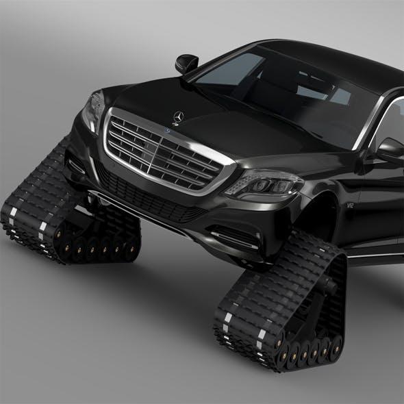 Mercedes Maybach Pullman Crawler 2016