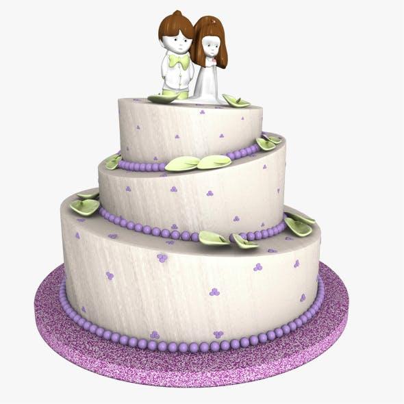Weeding Cake - 3DOcean Item for Sale