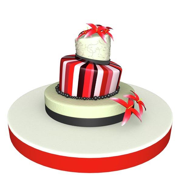 Weeding Cake 02 - 3DOcean Item for Sale