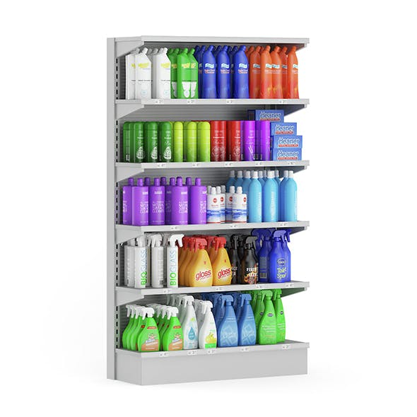 Market Shelf – Cleaning Products