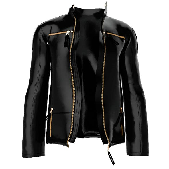 leather jacket - 3DOcean Item for Sale