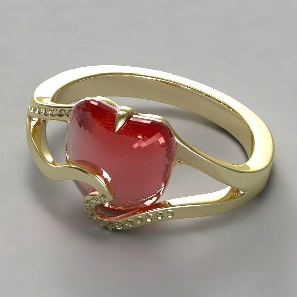 Ladies Ring - 3DOcean Item for Sale