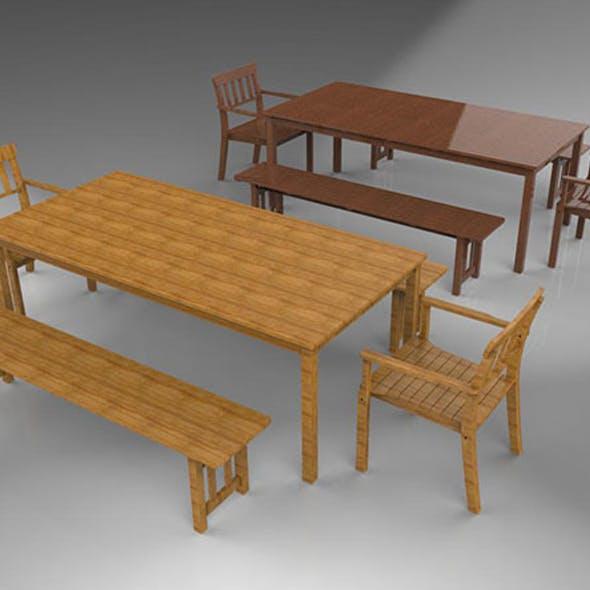 Benches and Chairs